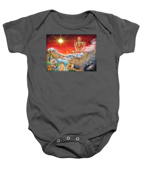 The Power Of Different Gods Baby Onesie