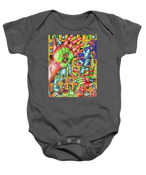 The Quantum Mechanics Of Chess And Life Baby Onesie