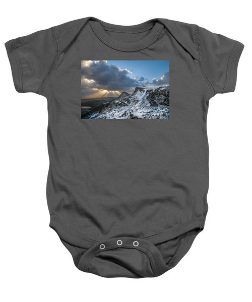The Quiraing Just After Dawn Baby Onesie