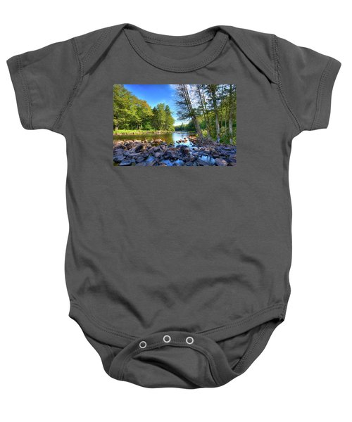 The Raquette River Baby Onesie