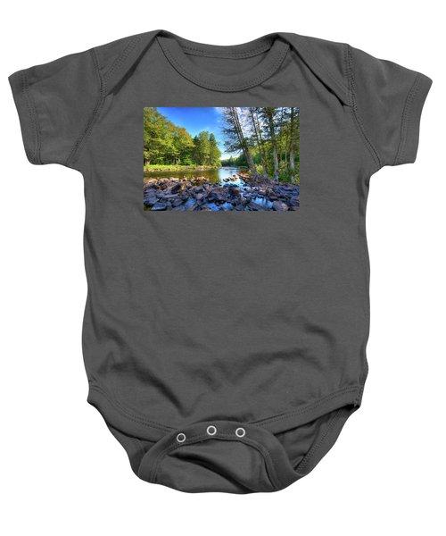 The Raquette River Baby Onesie