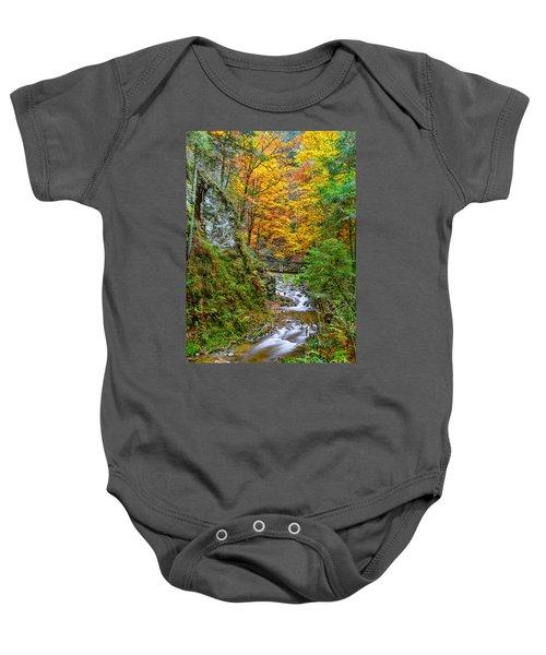 Cascades And Waterfalls Baby Onesie