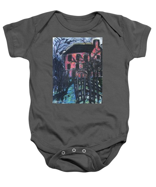 The Red House Baby Onesie
