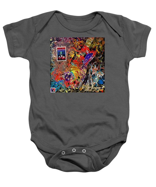 The Red Paintings Baby Onesie