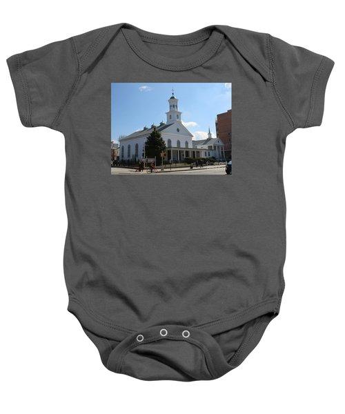 The Reformed Church Of Newtown- Baby Onesie