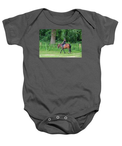The Riding School In Suburb Baby Onesie