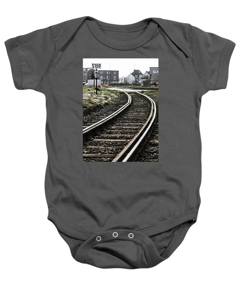 The Right Track? Baby Onesie