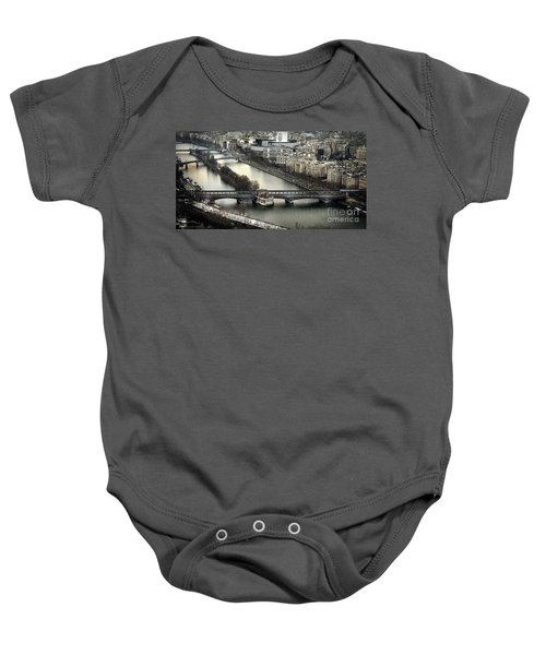 The River Seine - Paris Baby Onesie