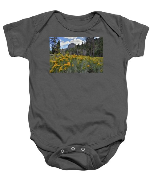 The Road To Mt. Charleston Natural Area Baby Onesie