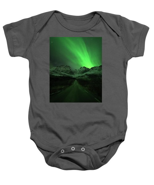 The Road To Nusfjord Baby Onesie