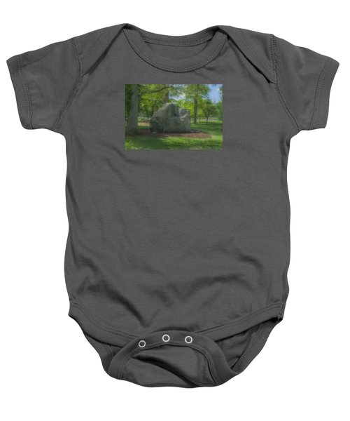 The Rock At Frothingham Park, Easton, Ma Baby Onesie