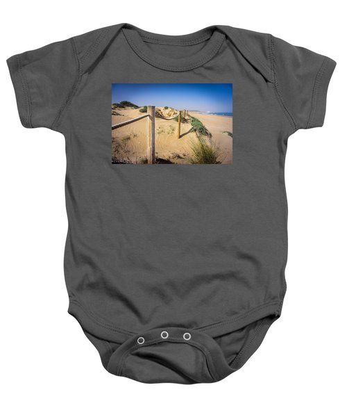 The Rope Fence. Baby Onesie