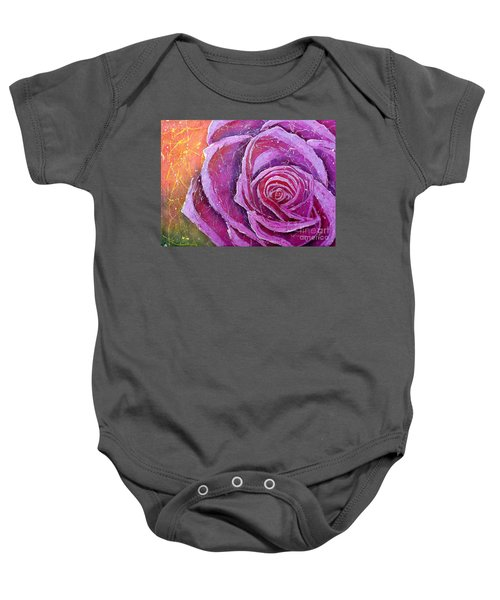 The Rose Baby Onesie