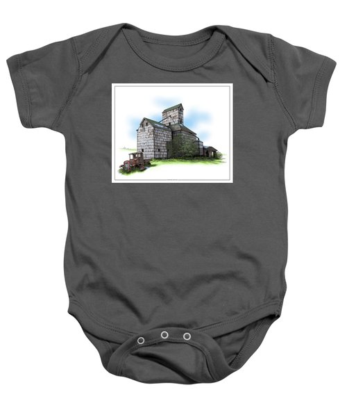The Ross Elevator Spring Baby Onesie