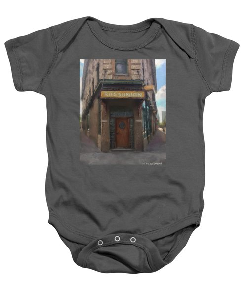 The Rossonian Baby Onesie