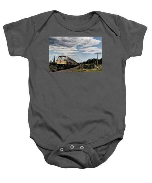 The Royal Canadian Pacific  Baby Onesie
