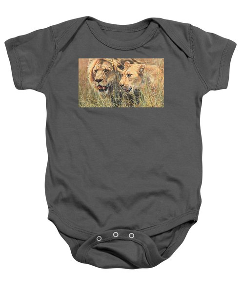 The Royal Couple II Baby Onesie