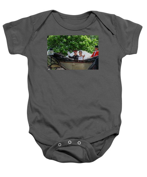 The Royal Wedding Harry Meghan Baby Onesie