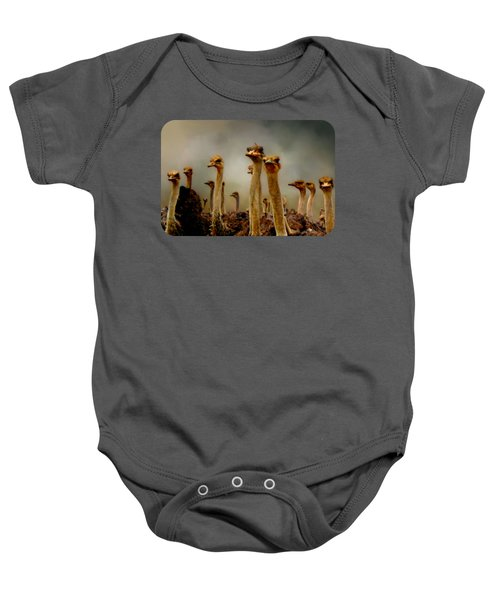 The Savannah Gang Baby Onesie by Linda Koelbel