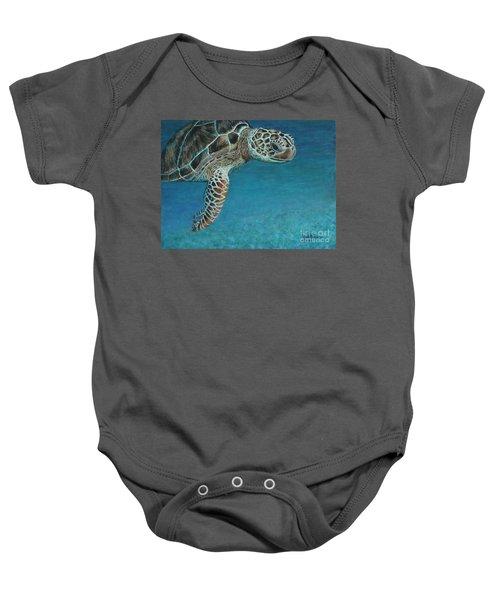 The Giant Sea Turtle Baby Onesie
