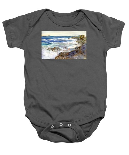 The Shores Of Falmouth Baby Onesie