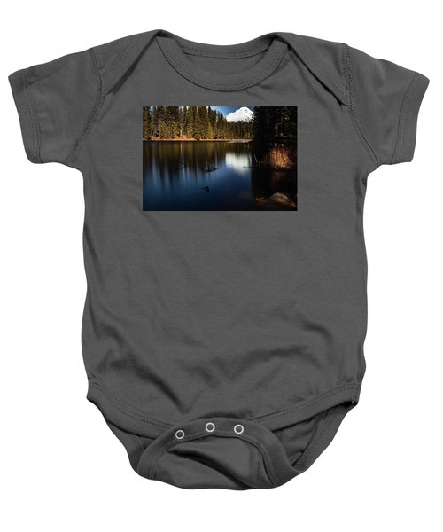 The Silence Of The Lake Baby Onesie