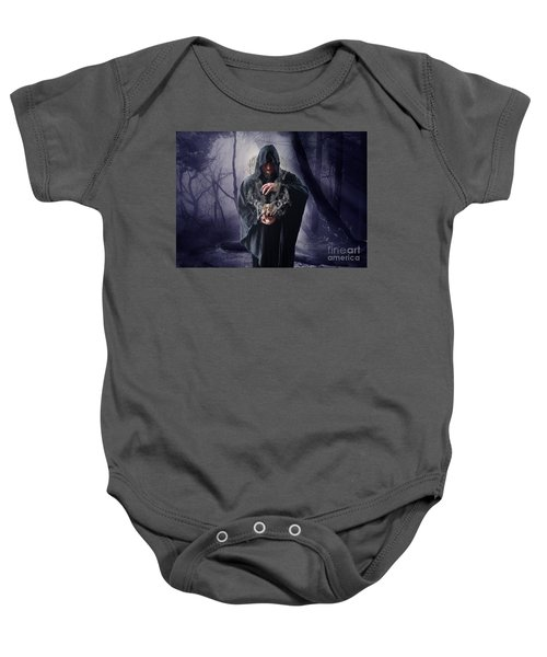 The Sounds Of Silence Baby Onesie