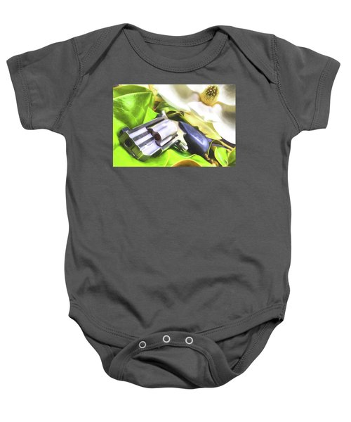 Baby Onesie featuring the photograph The Southern Debutante  by JC Findley