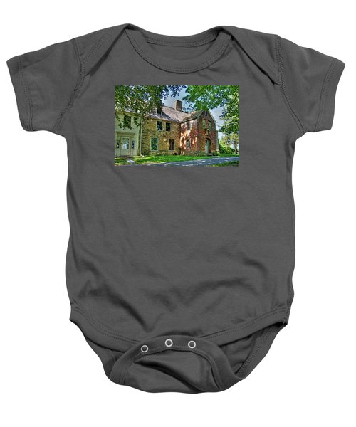 The Spencer-peirce-little House In Spring Baby Onesie
