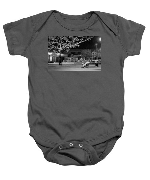 The Square In The Snow Baby Onesie