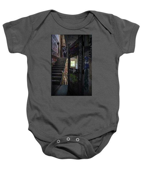 The Stairs Beyond The Door Baby Onesie