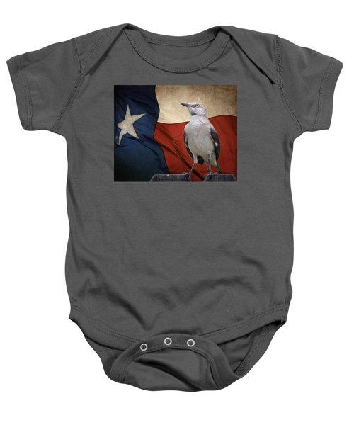 The State Bird Of Texas Baby Onesie
