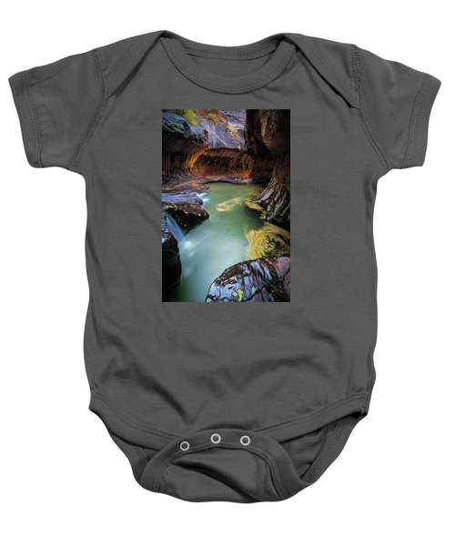 The Subway Colors Baby Onesie
