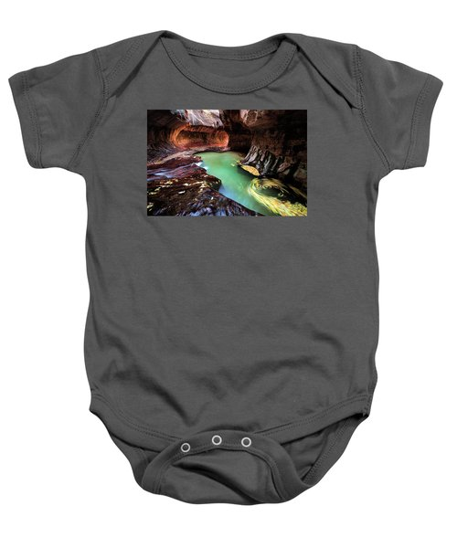 The Subway Swirls Baby Onesie