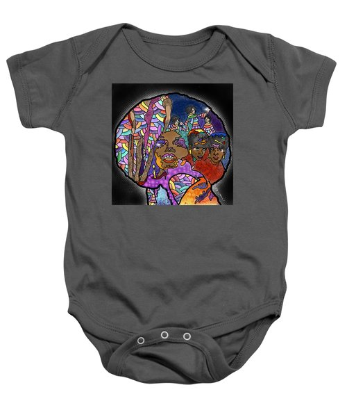 The Supreme Beings Baby Onesie