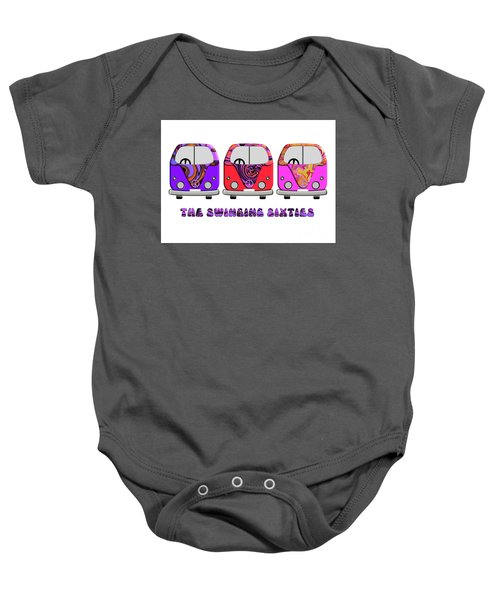 The Swinging Sixties Baby Onesie