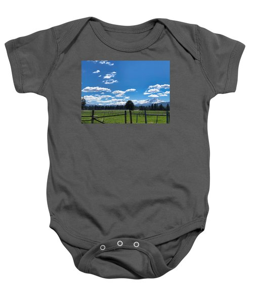 The Three Sisters Baby Onesie
