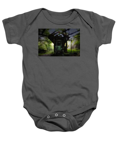 The Tram Leaves The Station... Baby Onesie