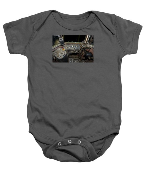 The Tram Leaves The Station... Instruments Baby Onesie