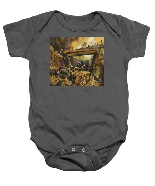 The Trenches Baby Onesie