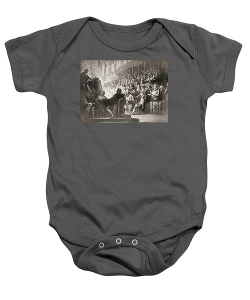 The Trial Of Louis Xvi At The National Baby Onesie