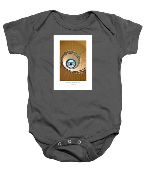 The Tulip Staircase Baby Onesie