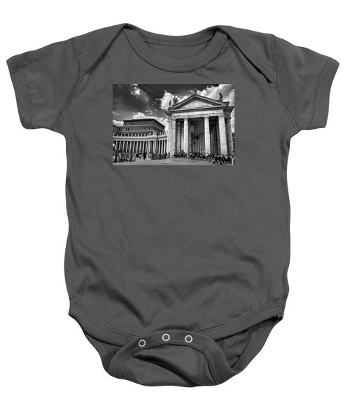 The Tuscan Colonnades In The Vatican Baby Onesie