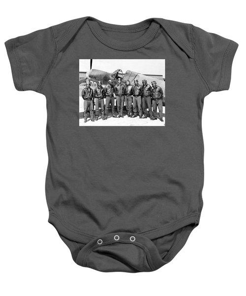 The Tuskegee Airmen Circa 1943 Baby Onesie