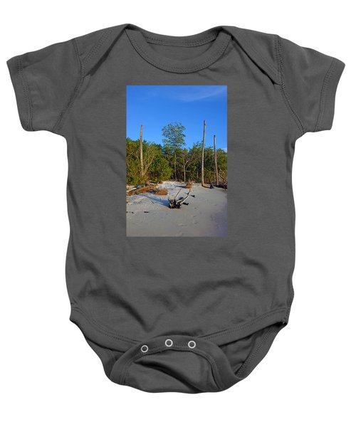 The Unspoiled Beauty Of Barefoot Beach In Naples - Portrait Baby Onesie