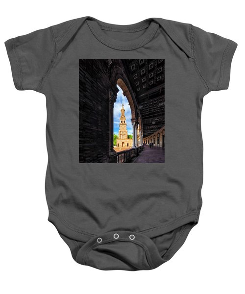 The View Again. Baby Onesie