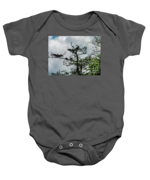 The Vultures Are Waiting Baby Onesie