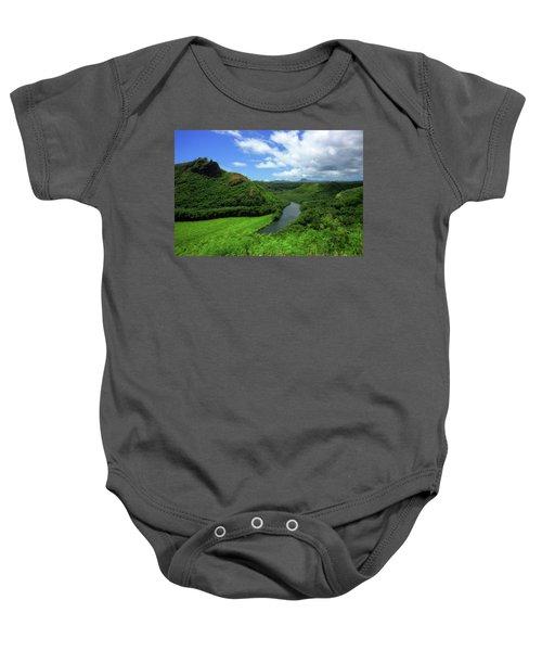 The Wailua River Baby Onesie