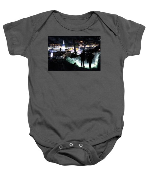 The Walk Into Town- Baby Onesie