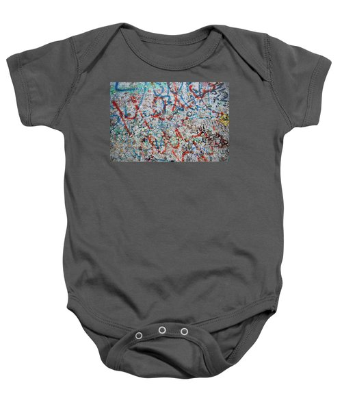 The Wall #7 Baby Onesie